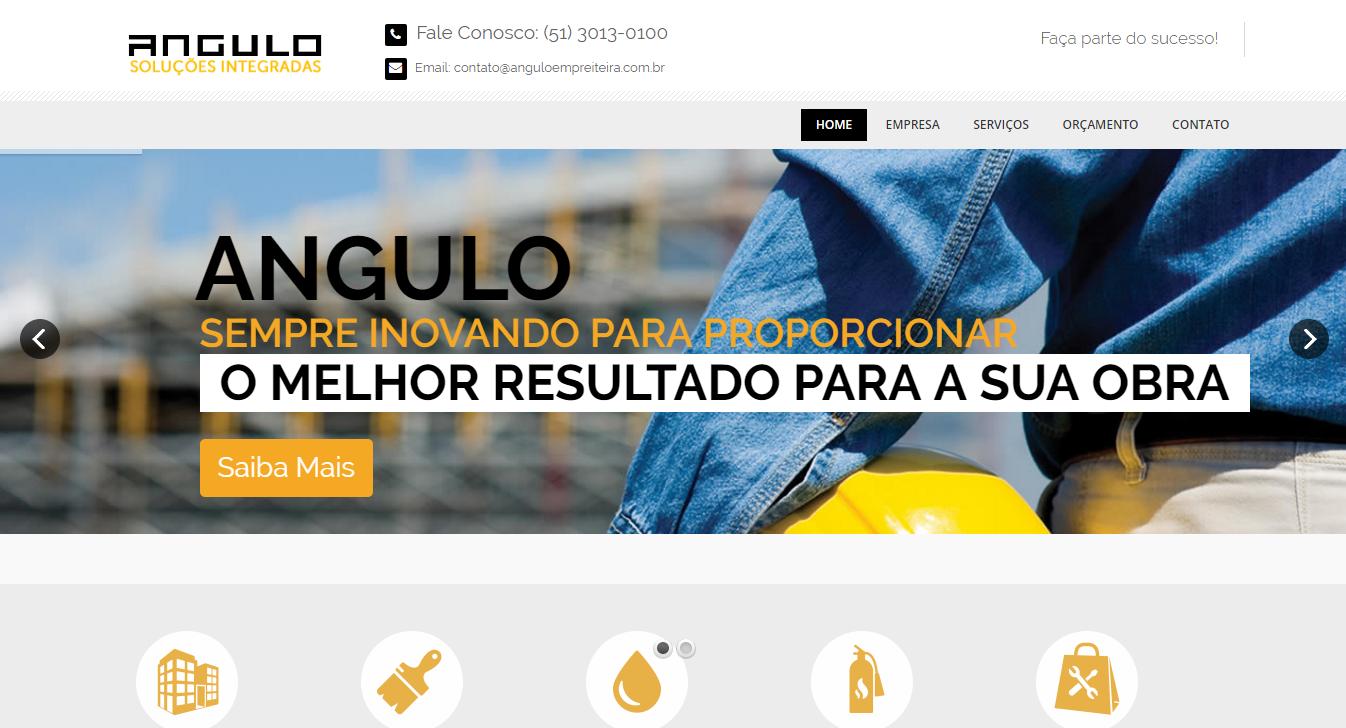 Projeto Angulo Empreiteira