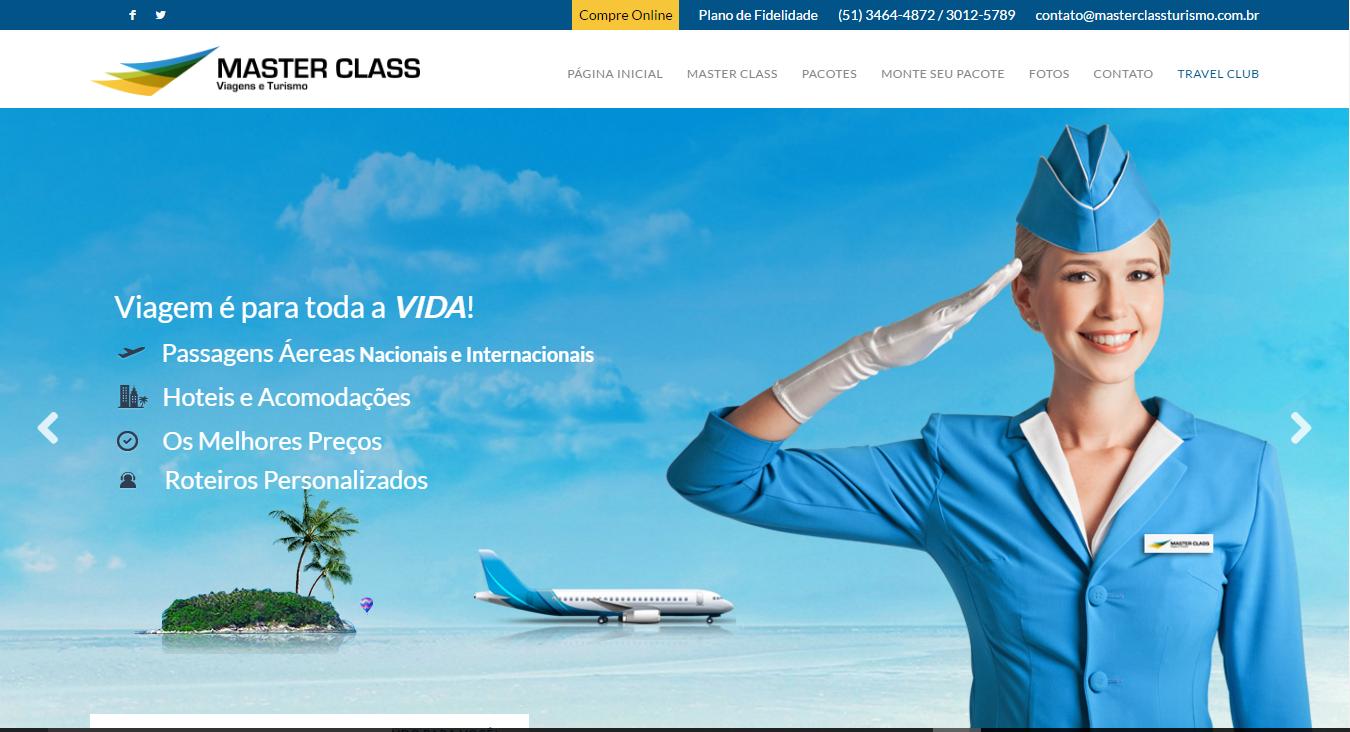 Projeto Master Class Turismo