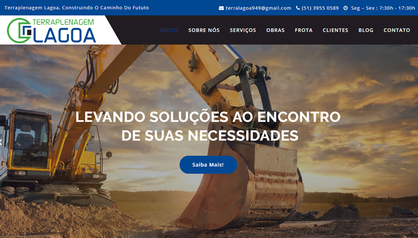 Projeto Terraplenagem Lagoa