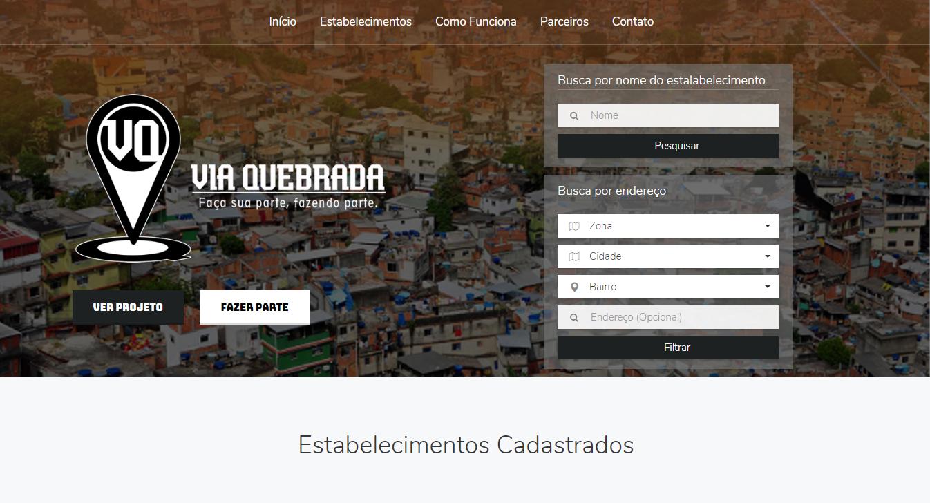 Projeto Via Quebrada