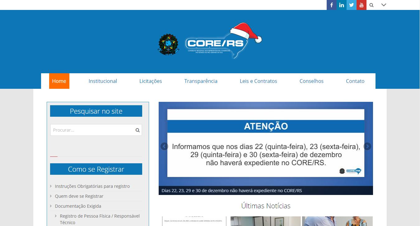 Projeto Core RS