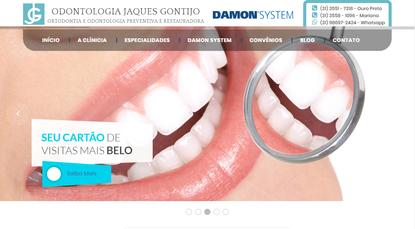 Projeto Odontologia Jaques Gontijo
