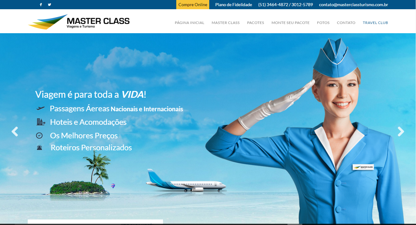 Master Class Turismo