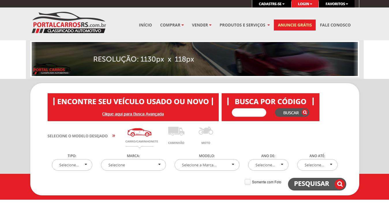 Portal Carros RS