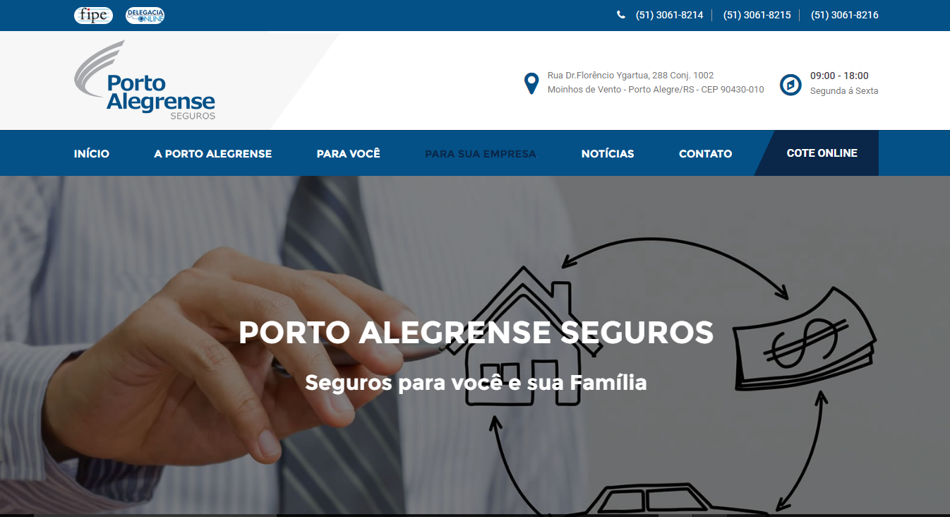 Projeto Porto Alegrense Seguros