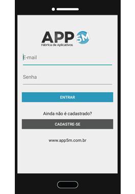 Login App5M Delivery
